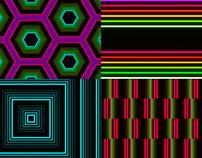 Repeat Lines - VJ Loop Pack (5in1)
