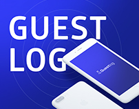 Презентационный Landing Page для GuestlogApp