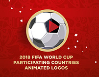 2018 FIFA World Cup participants animated logos