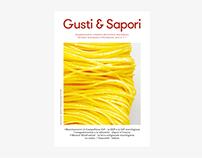 Gusti & Sapori · Identity, magazine design.