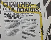 IdN Magazine - Skateboard art feature.
