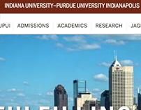 IUPUI website redesign (iupui.edu)