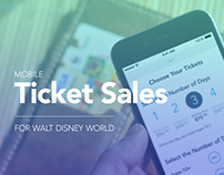 Disney World: Mobile Ticket Sales