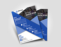 Free Business Flyer PSD File