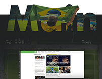 Football24 - website redesign