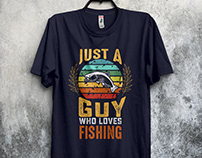 Fishing T-Shirt Design - 3