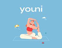 Youni - Branding & Illustrations