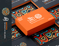 360 INSTITUTE FOR HEALTH & WELLNESS VISUAL BRANDING