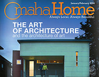 Omaha Home • Magazine Cover Design/Art Direction
