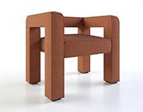 FAINA | Toptun armchair