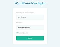 Newlogin – WordPress Dashboard Login Style Plugin