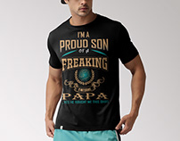 Typography T- shirt Design