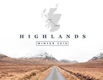 Scottish Highlands - Winter 2016