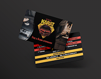 "Business Card ""Karat Detailing"""