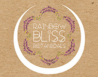 Rainbow Bliss Botanicals Branding