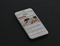 Nhóm tin IOS App and Landing page