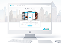 Titan, The Furure of Safety, Landing Page Site Design
