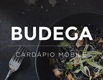 Budega   Cardápio Mobile