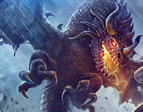 Slavic Mythology - Dragon vs Warrior