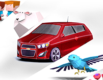 :: Paper Chevy Sonic (Tv Spot)::