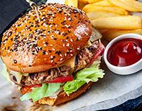 food photography project for restaurant Senator