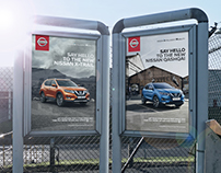 Nissan 'Say Hello' Campaign