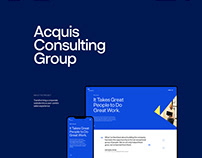 Acquis Consulting Group — Corporate Website