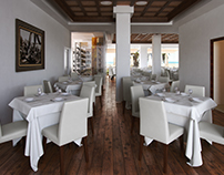 Restaurant in Southern Spain CGI
