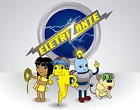 Criação de personagens Eletrizante
