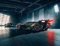 Lamborghini VisionGT & Terzo Millennio Concept Cars
