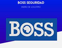 BOSS SEGURIDAD | DISEÑO DE LOGOTIPO