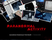 Paranormal Activity Movie Promotional Website