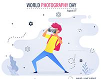 Happy World Photography Day - DoodleMango