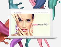LoveLe responsive website design