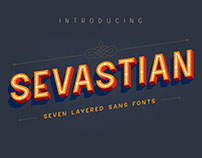 Sevastian - 7 Layered Sans Fonts