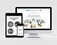 Fixture Finders website design project