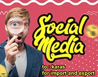Social Media - Advertising For Karas