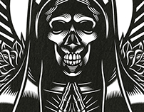 DAY OF THE DEAD. Vector graphic illustration.