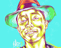 Pharrell Williams Portrait