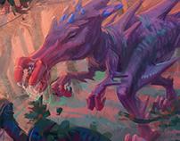 Tyrannosaurus Arachnida concept
