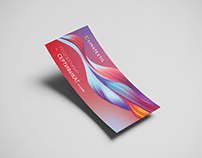 Design of discount cards & gift certificate