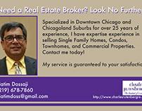Newspaper Real Estate broker ad