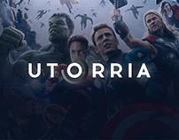 UTORRIA - deckstop/tablet application
