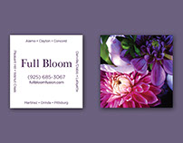 Business card | Full Bloom