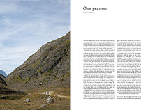 'One Year On' - The Ride Journal - Issue 10