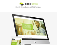 BookMarks - Clean & Simple Business Template