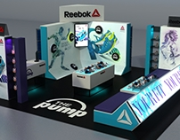 reebok stand mall