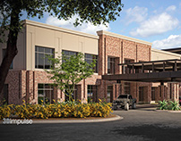 Medical Office Building Entrance – Del Rio Texas