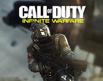 Call of Duty: Infinite Warfare Cover Design