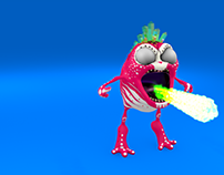 Monsterlings: Raze - Animation Test